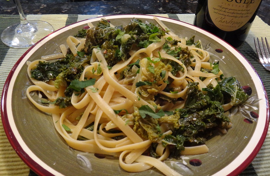 Linguine with Kale