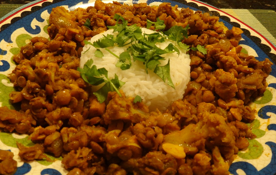 Gobi Dal (Lentils with Cauliflower)