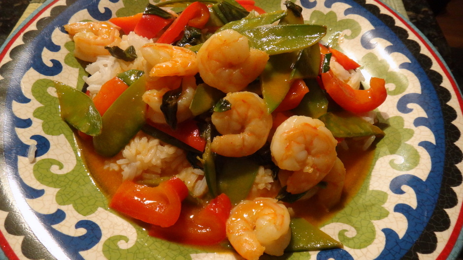 Thai Curried Shrimp